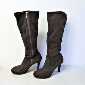 """Tahari """"Claire"""" Faux Suede High Heel Boot"""
